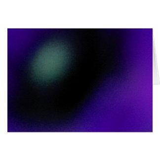Blur - Blue Greeting Card