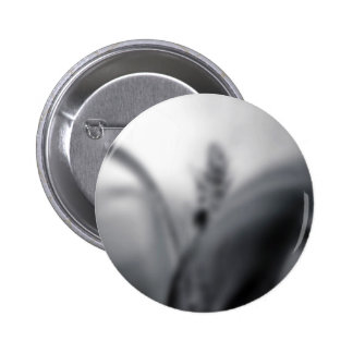Blur Themed, A Black And White Picture Of A Blurry 6 Cm Round Badge