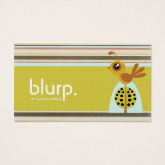 Blurp Partridge Business Cards