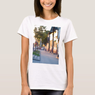 Blurred and out of focus image of streets T-Shirt