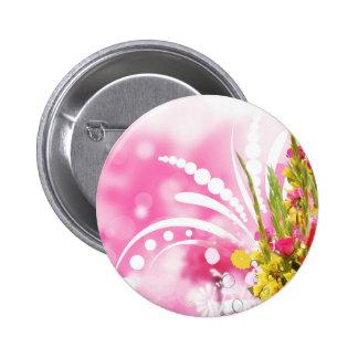 Blurred Border Pattern 6 Cm Round Badge