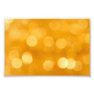 BLURRED BOTEK GOLDEN YELLOW CIRCLES PATTERN DIGITA PHOTOGRAPH