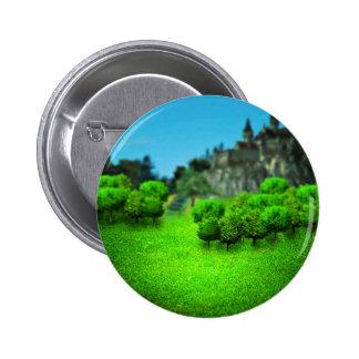 Blurred Castle 6 Cm Round Badge