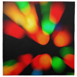 Blurred color background napkin
