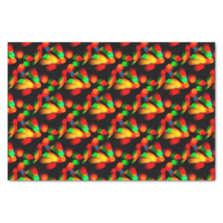 Blurred color background tissue paper