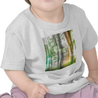 Blurred Forest T Shirts