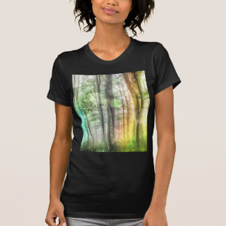 Blurred Forest T-shirts
