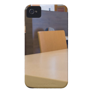 Blurred image of the interior cafe Case-Mate iPhone 4 case