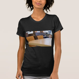 Blurred image of the interior cafe T-Shirt