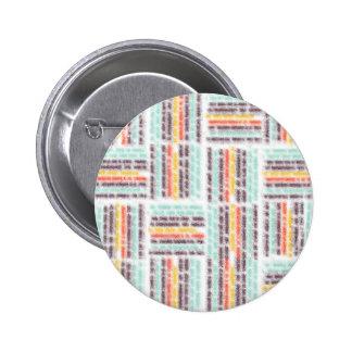 Blurred lines 6 cm round badge