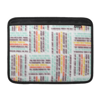 Blurred lines MacBook air sleeve
