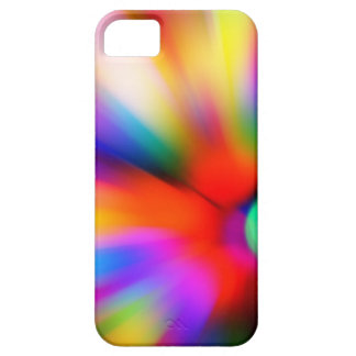 Blurred multi color lights barely there iPhone 5 case