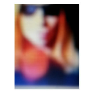 Blurred Susie Postcard