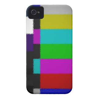 Blurred TV Test Screen iPhone Case iPhone 4 Covers