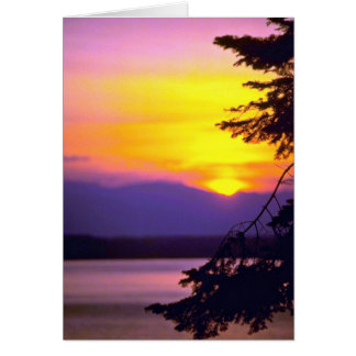 Blurred Water Greeting Card