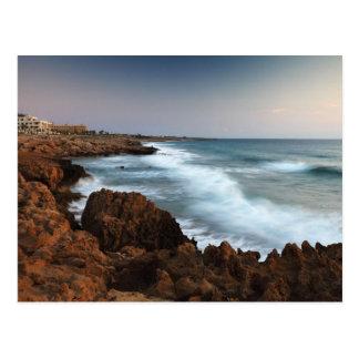 Blurred Waves Postcard