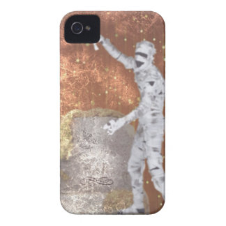 Blurred Zombie Case-Mate iPhone 4 Cases