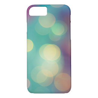 Blurry Lights - Iphone Case (Turquoise)