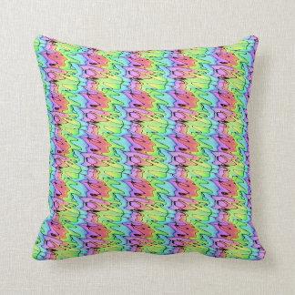 Blurry Rainbow Cushion