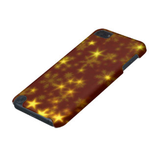 Blurry Stars golden iPod Touch 5G Covers