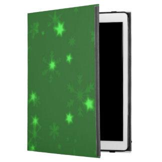 """Blurry Stars green iPad Pro 12.9"""" Case"""