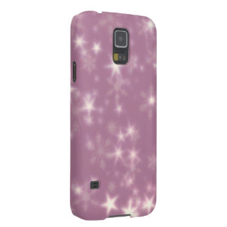 Blurry Stars lilac Cases For Galaxy S5