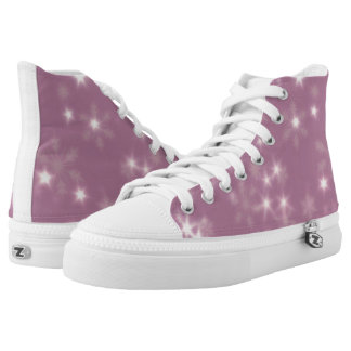 Blurry Stars lilac High Tops