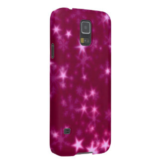 Blurry Stars pink Cases For Galaxy S5