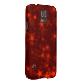 Blurry Stars rede Cases For Galaxy S5