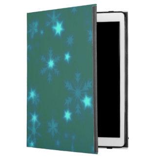 "Blurry Stars teal iPad Pro 12.9"" Case"