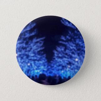 Blurry Winter Illumination 6 Cm Round Badge