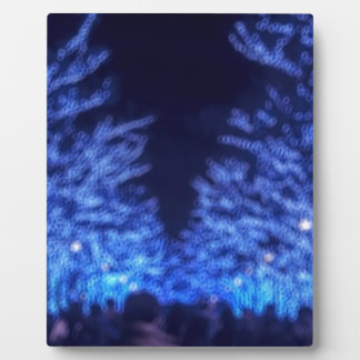 Blurry Winter Illumination Display Plaque