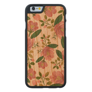 Blush Bouquet Carved® Cherry iPhone 6 Case