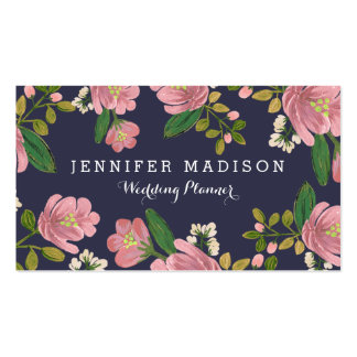 Blush Bouquet Pack Of Standard Business Cards