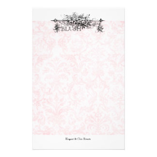 Blush Damask Stationery Packages