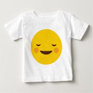 Blush Emoji Baby T-Shirt