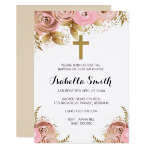 christening baptism invitations zazzle com au