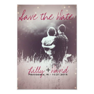 Blush Light - Save the Date Card