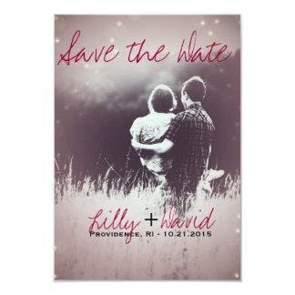 Blush Light - Save the Date 9 Cm X 13 Cm Invitation Card