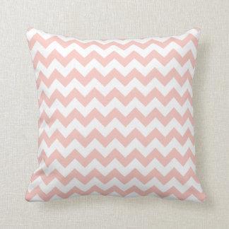 Blush Pink Chevron Cushion