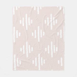Blush pink Ikat Blanket