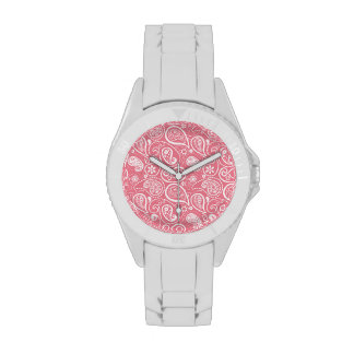 Blush Pink Paisley; Floral Watch