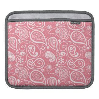 Blush Pink Paisley Floral Sleeves For iPads