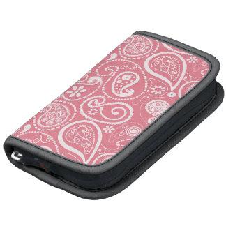 Blush Pink Paisley; Floral Folio Planner