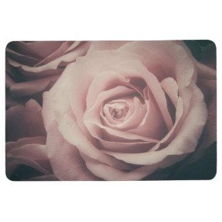 Blush Pink Rose Floor Mat