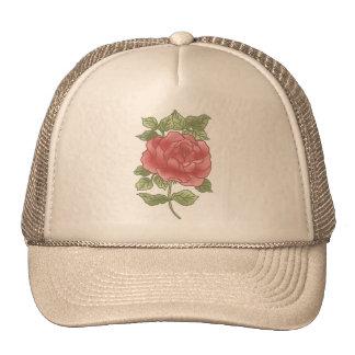 Blush Pink Rose Hat