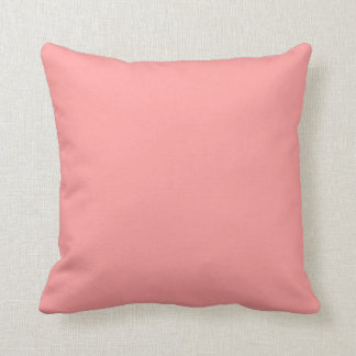Blush Pink Solid Accent Throw Cushion