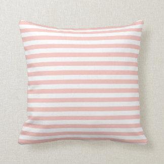 Blush Pink Stripes Cushion