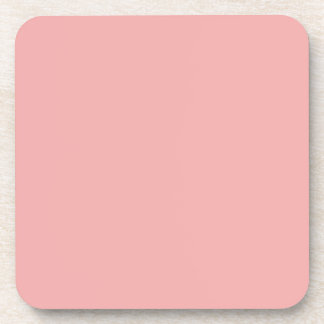 Blush Pink Valentines Solid Coasters
