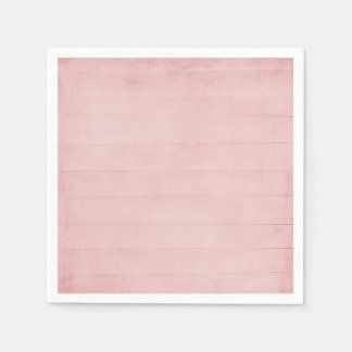 Blush Pink Watercolor Texture Look Girly Pastel Paper Serviettes